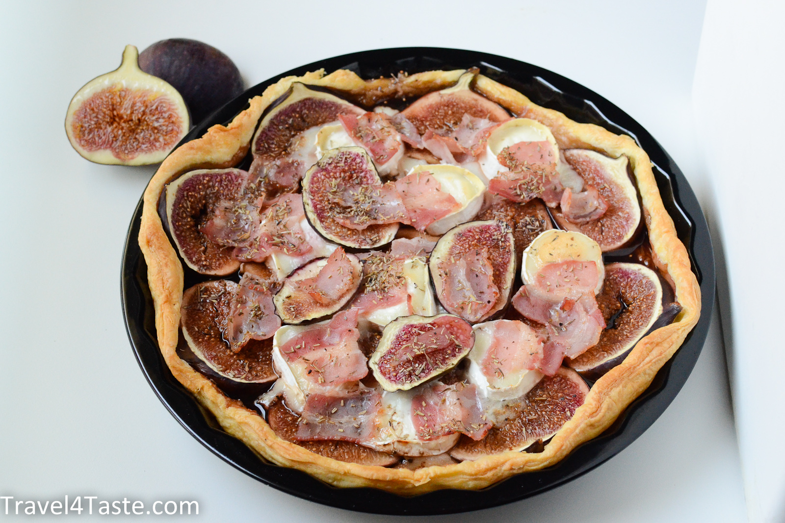 French Tart with Figs & Goat Cheese | Travel For Taste