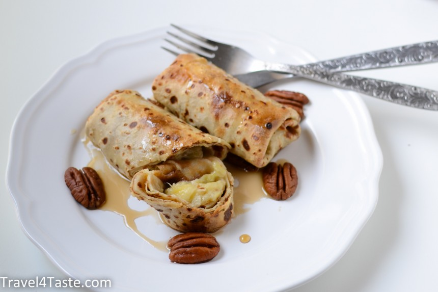 Baked Oatmeal Pancakes With Bananas Travel For Taste