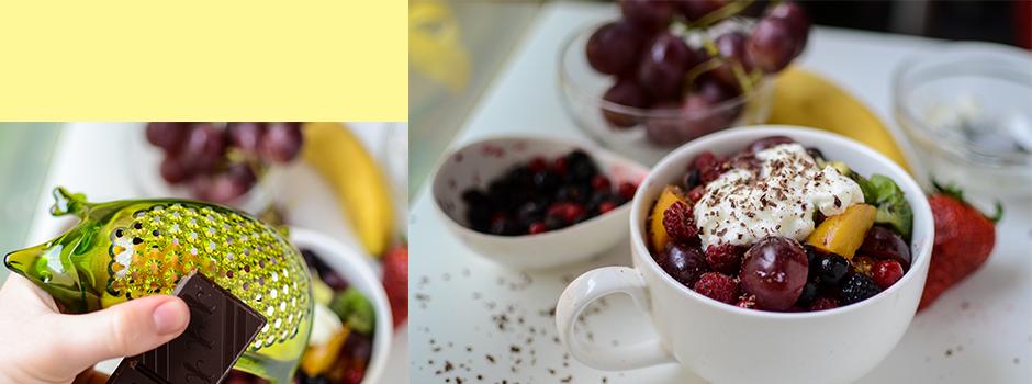 Rice with Yogurt and Fruits