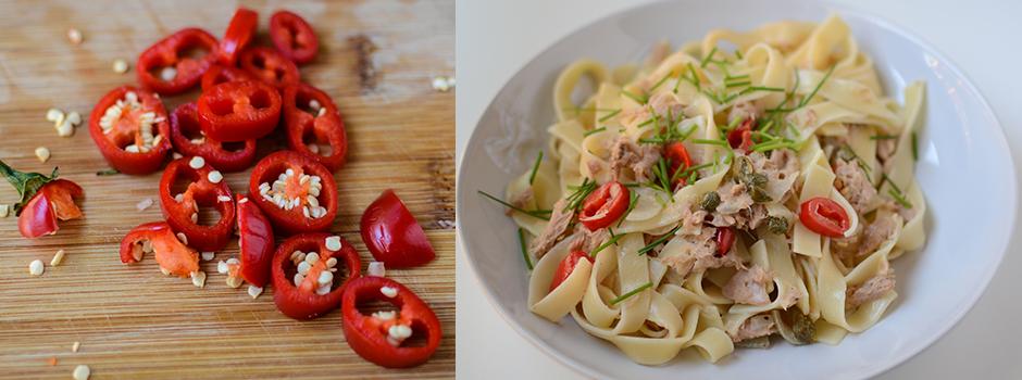 15min Pasta with Tuna