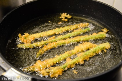 Asparagus Tempura Travel For Taste