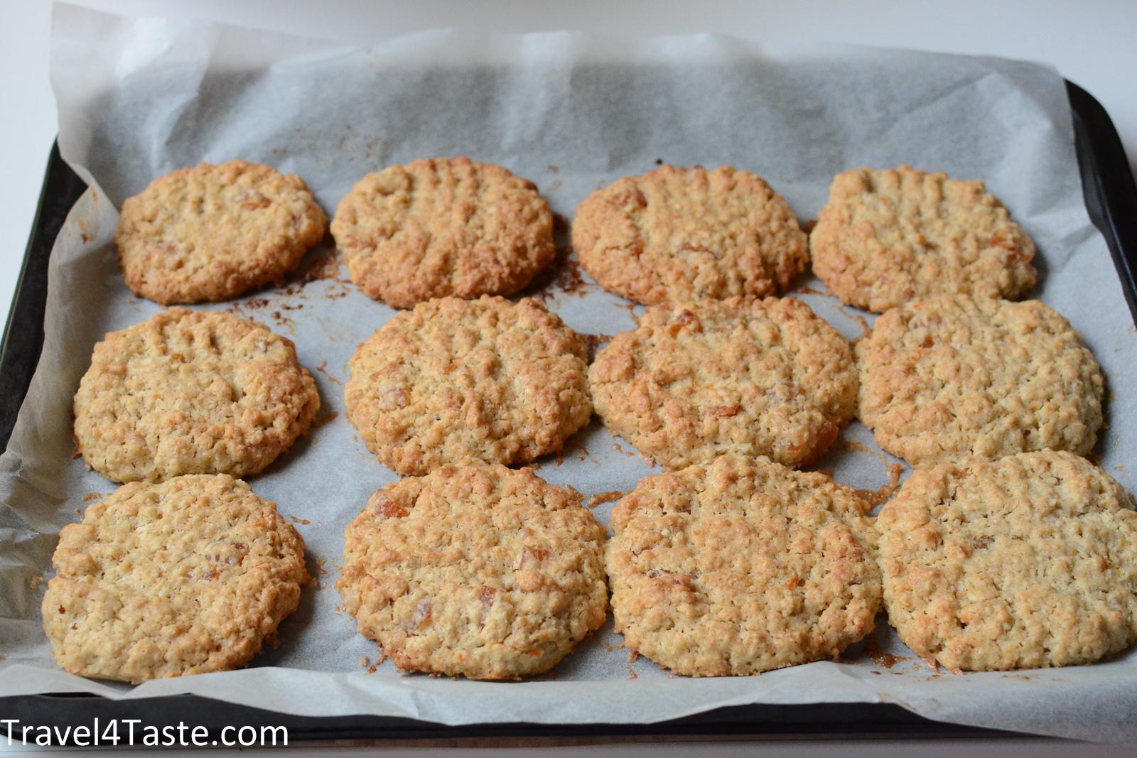 Вкусное печенье овсяное рецепт