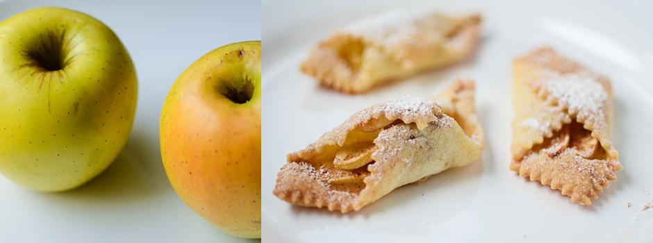 Crispy cookies with Apples and Cinnamon