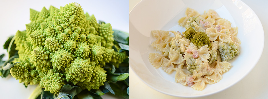 Pasta with Romanesco Broccoli
