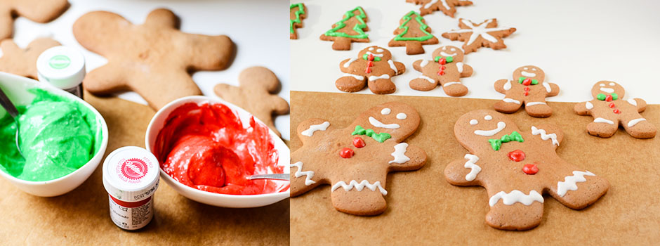 Gingerbread Cookies Icing (Marshmallow-like)
