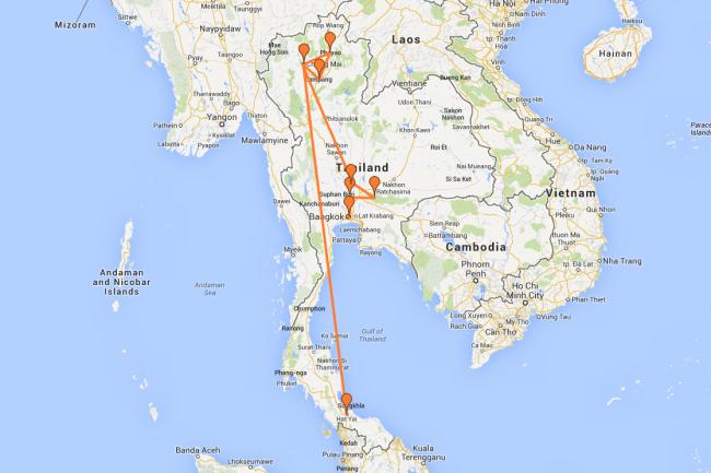 map hat yai