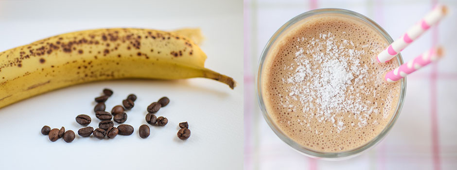 Banana & Coconut Coffee Shake