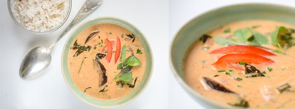 Penang (Red) Curry with Coconut Milk
