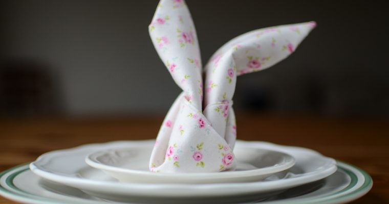 Easter Bunny Napkin (Video)