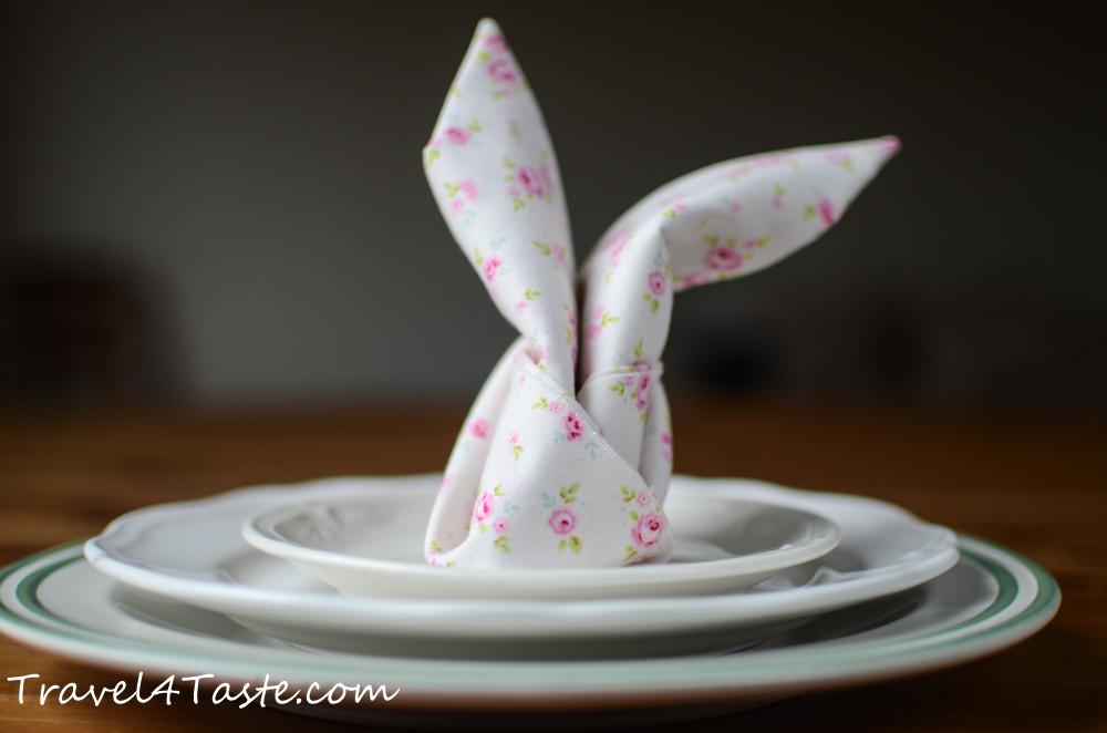 Easter Bunny Napkin (Video)