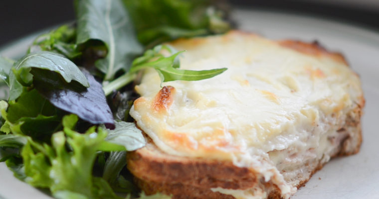 Croque Monsieur: Vegetarian vs. Classic (VIDEO)