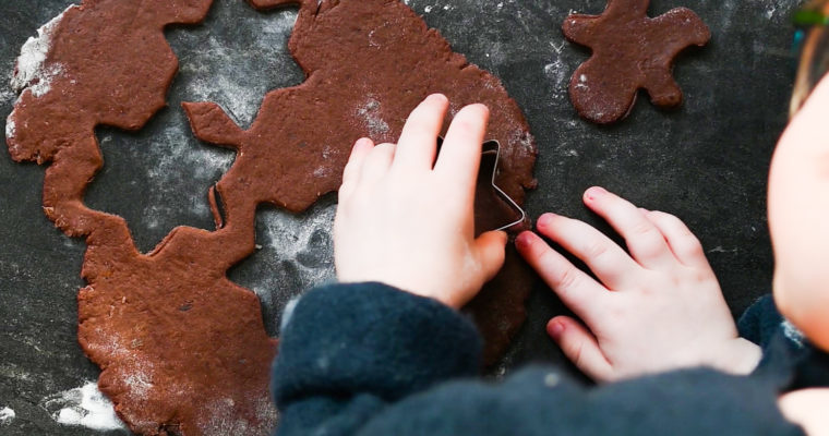 Healthy Gingerbread Cookies for Kids ♥ Sugar-free, Honey-Free