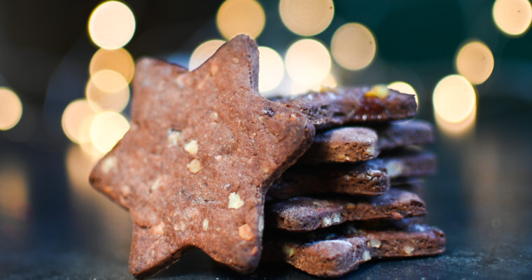 Vegan Gingerbread Cookies ♥ Sugar-free, Honey-Free & Oil-Free