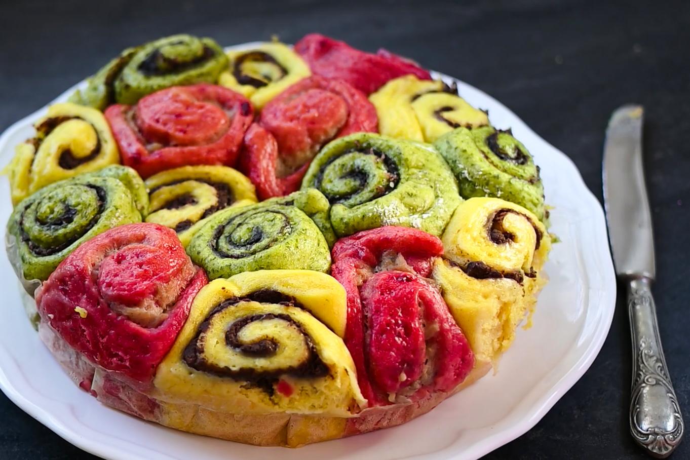 Vegan Steamed Cake (Brioche-like)